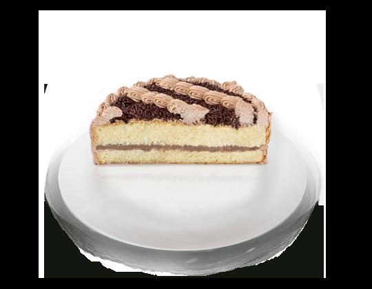 Pastel de Chocolate con Vainilla