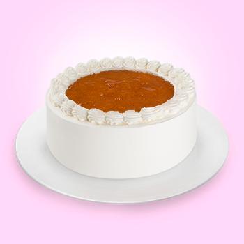 Pastel de Queso con Chabacano